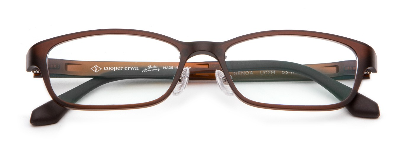 76c5eb917 Genoa Ultem Fashion Eyeglasses In Black   Cooper Crwn Men's Eyeglasses