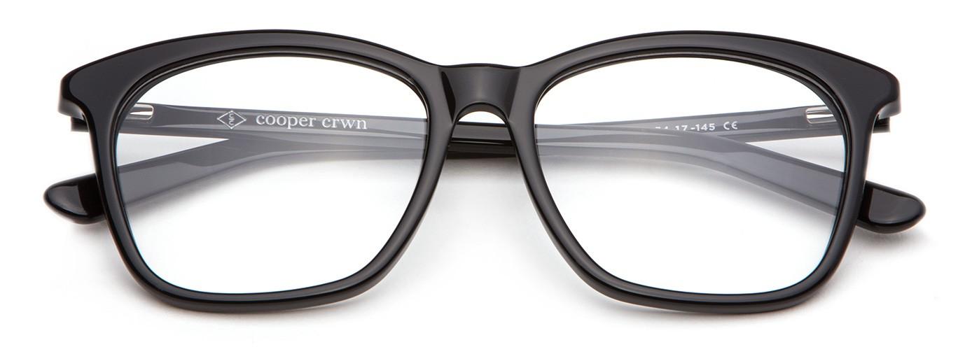 3d0f357ee2 Sydney Acetate Fashion Eyeglasses In Black